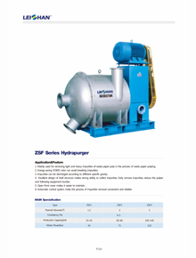 ZSF Series Hydrapurger