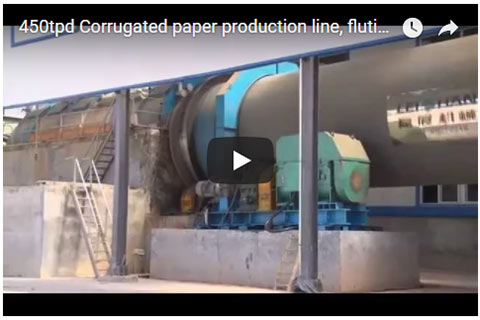 450tpd Corrugated Paper Production Line