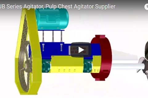 Pulp Chest Agitator