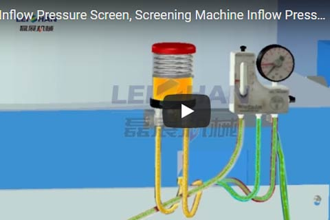 Working Principle of Inflow Pressure Screen