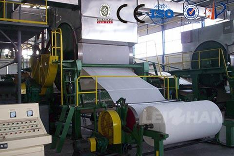 Living Paper Machine